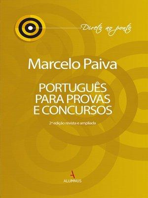 cover image of Português para provas e concursos
