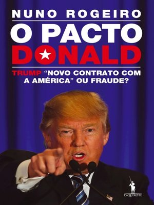 cover image of O Pacto Donald – Trump