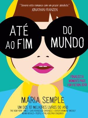cover image of Até ao Fim do Mundo