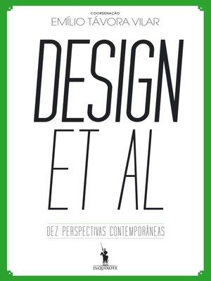 cover image of Design et al