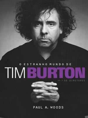 cover image of O estranho mundo de Tim Burton