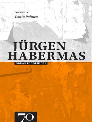 cover image of Obras Escolhidas de Jürgen Habermas, Volume 4