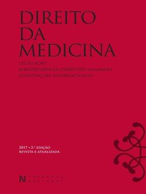 cover image of Direito da Medicina – 3ª Edição
