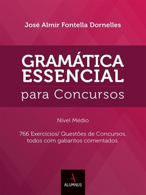 cover image of Gramática Essencial para Concursos 20