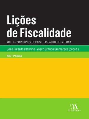 cover image of Lições de Fiscalidade