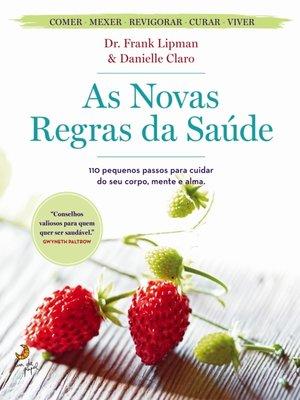 cover image of As Novas Regras da Saúde