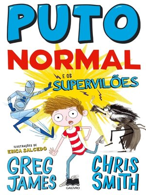 cover image of Puto Normal e os Supervilões