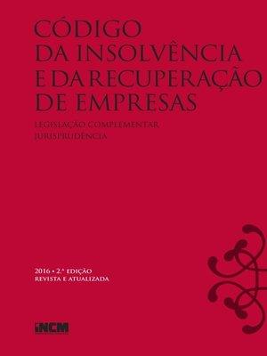 cover image of Código de Insolvência e da Recuperação de Empresas