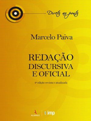 cover image of Redação Discursiva e Oficial