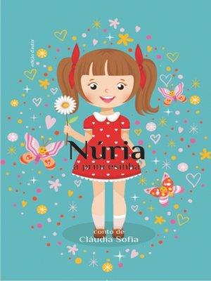 cover image of Nuria, a princesinha