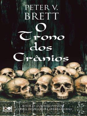 cover image of O Trono dos Crânios
