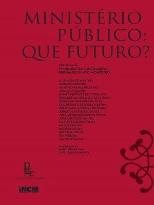 cover image of Ministério Público