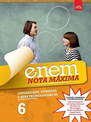 cover image of Enem Nota Máxima--Linguagens, Códigos e Suas Tecnologias III