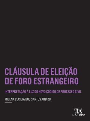 cover image of Cláusula de Eleição de Foro Estrangeiro
