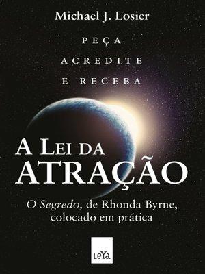 cover image of A lei da atração