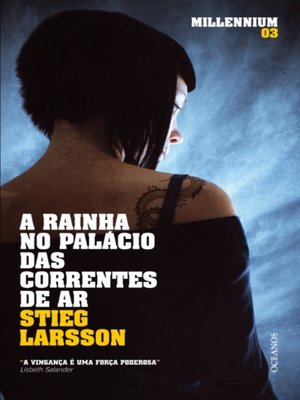 cover image of A Rainha no Palácio das Correntes de Ar