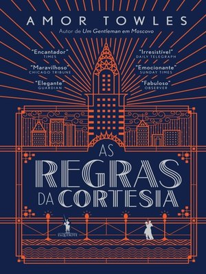 cover image of As Regras da Cortesia
