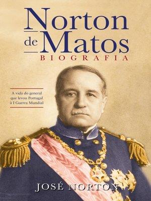 cover image of Norton de Matos--Biografia