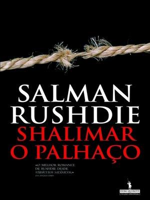 cover image of Shalimar, o Palhaço