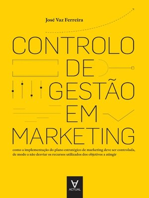 cover image of Controlo de Gestão em Marketing--análise, planeamento e controlo