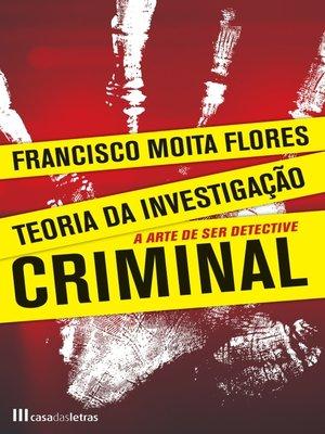 cover image of Teoria da Investigação Criminal