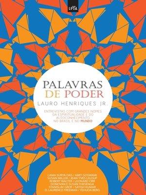 cover image of Palavras de Poder--Volume Mundo