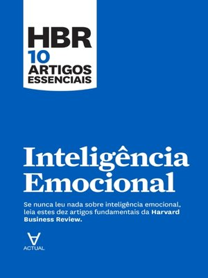 cover image of Inteligência Emocional