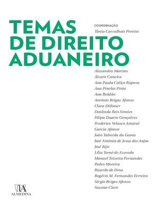 cover image of Temas de Direito Aduaneiro