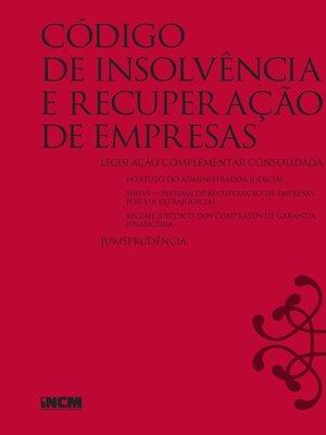 cover image of Código de Insolvência e Recuperação de Empresas