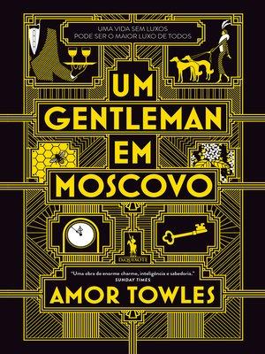 cover image of Um Gentleman em Moscovo