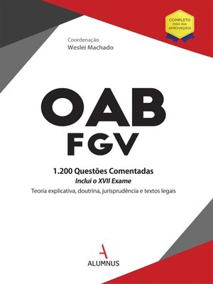 cover image of OAB/FGV