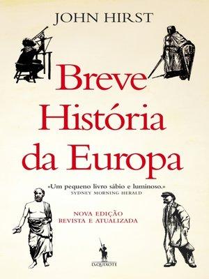 cover image of Breve História da Europa