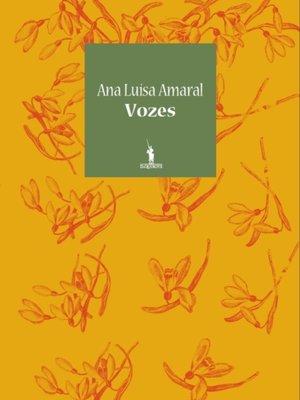 cover image of Vozes