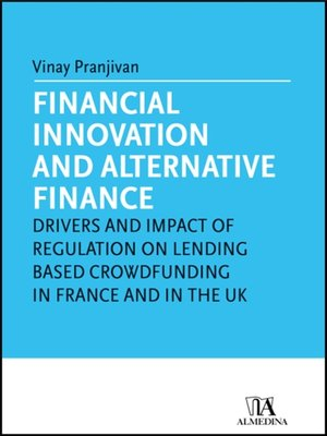 cover image of Financial innovation and alternative finance