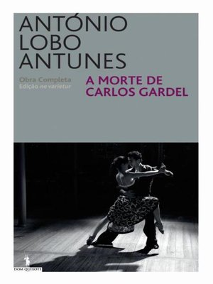 cover image of A Morte de Carlos Gardel