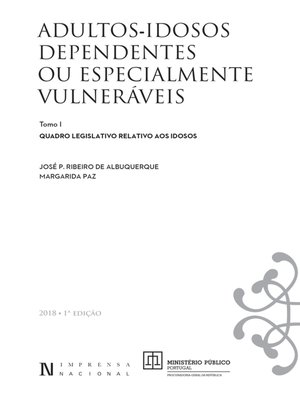 cover image of Adultos--Idosos Dependentes ou Especialmente Vulneráveis--Volume I