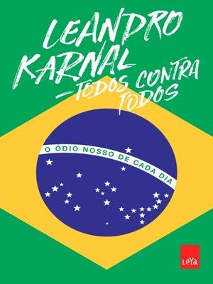 cover image of Todos contra todos
