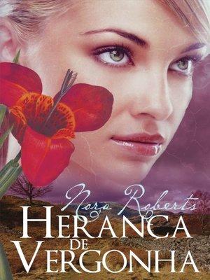 cover image of Herança de Vergonha