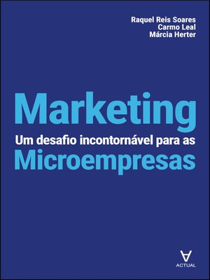 cover image of Marketing--Um Desafio Incontornável para as Microempresas