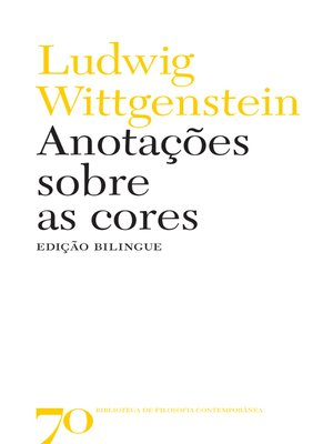 cover image of Anotações sobre as cores