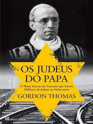 cover image of Os Judeus do Papa