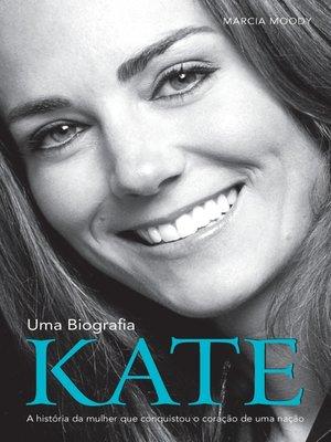 cover image of Kate--Uma Biografia