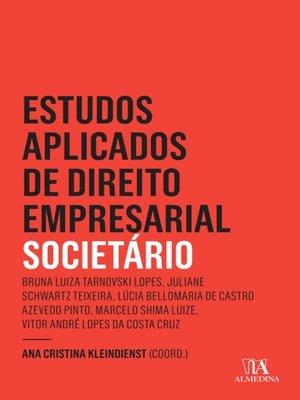 cover image of Estudos Aplicados do Direto Empresarial--Societário