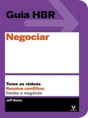 cover image of Negociar