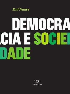 cover image of Democracia e Sociedade