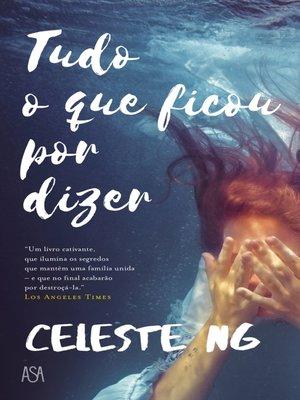 cover image of Tudo o Que Ficou por Dizer