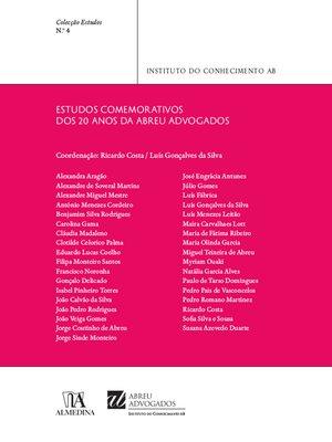 cover image of Estudos do Instituto do Conhecimento AB N.º 4