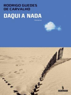 cover image of Daqui a Nada