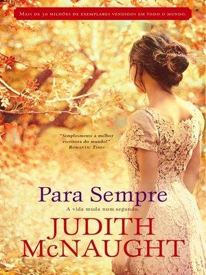 cover image of Para Sempre