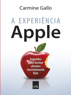 cover image of A experiência Apple